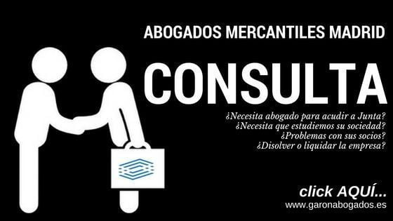 ABOGADOS MERCANTILES MADRID
