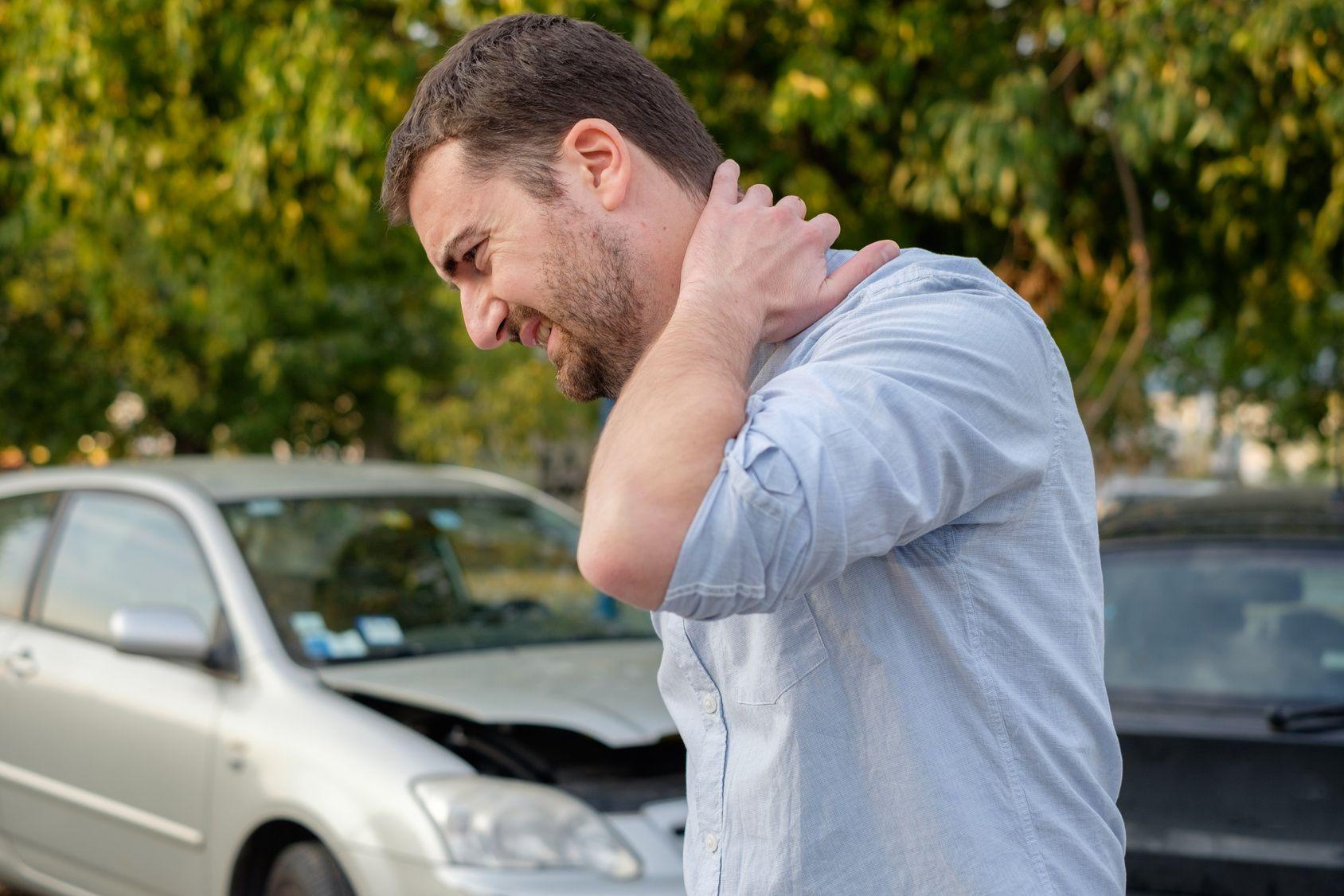 Dolor cervical tras golpe de coche