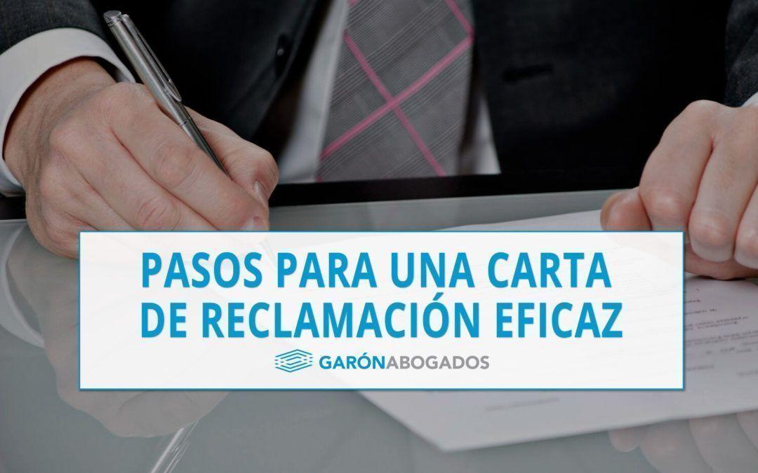 PASOS PARA UNA EFICAZ CARTA DE RECLAMACIÓN DE DEUDA.