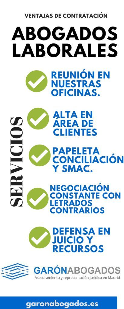 abogados laborales madrid