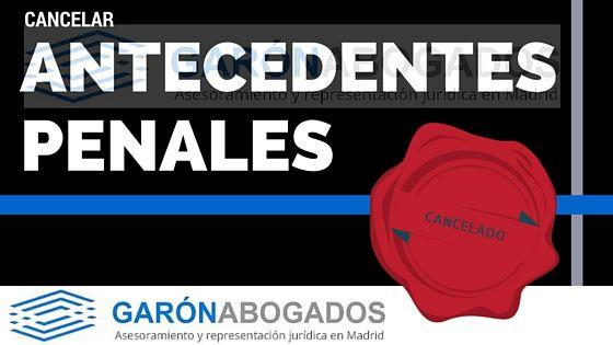 LOS ANTECEDENTES PENALES PUEDEN IMPEDIR QUE TRABAJES.
